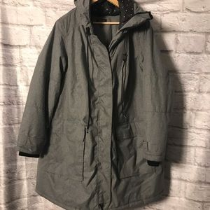 Torrid Cold Weather Gray Parka